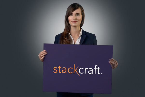 Sample branding #1 for Stackcraft