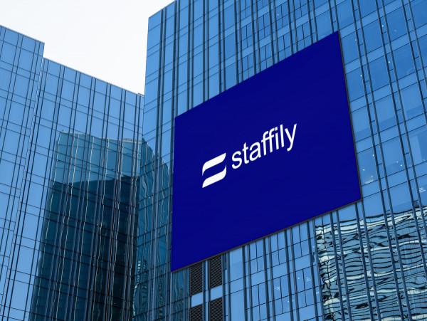 Sample branding #1 for Staffily
