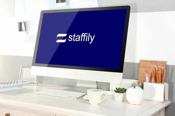 Sample branding #3 for Staffily