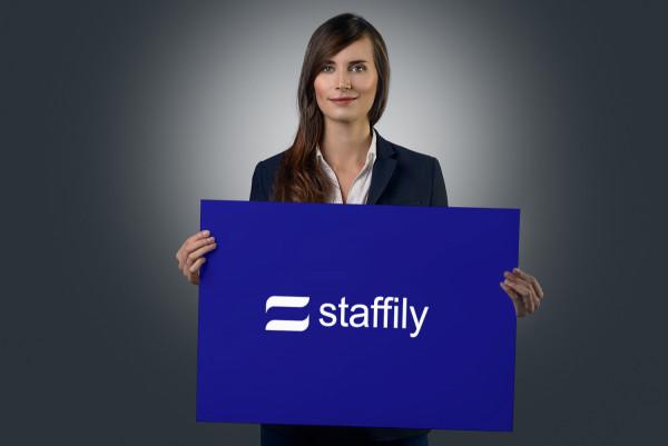 Sample branding #2 for Staffily