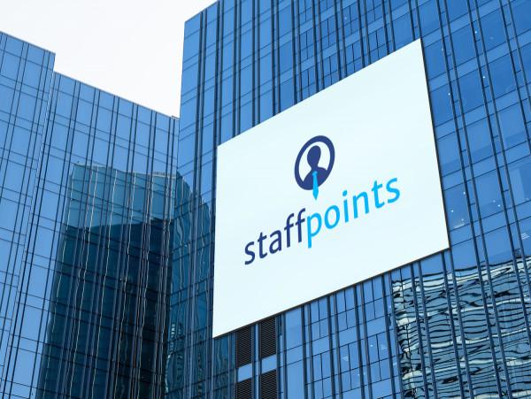 Sample branding #2 for Staffpoints