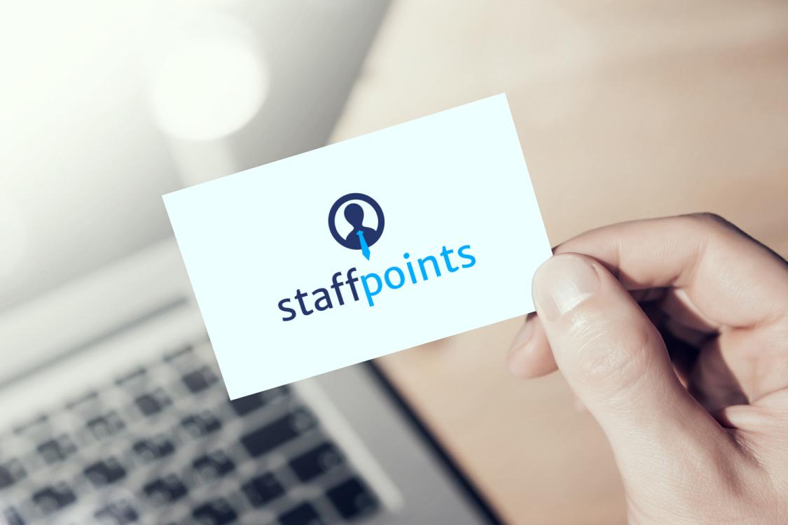 Sample branding #1 for Staffpoints