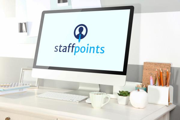 Sample branding #3 for Staffpoints
