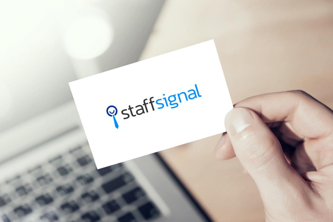 Sample branding #1 for Staffsignal
