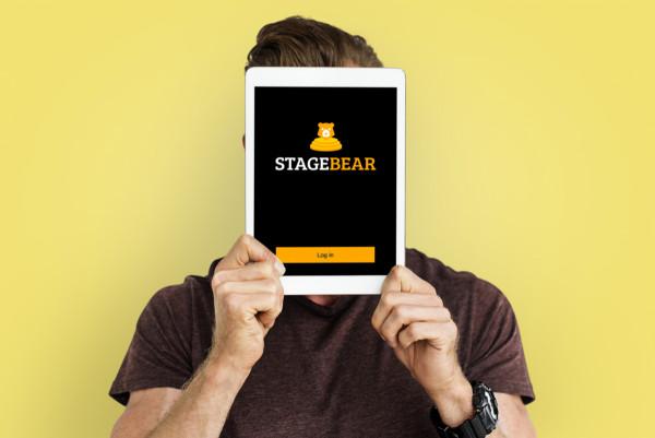 Sample branding #1 for Stagebear