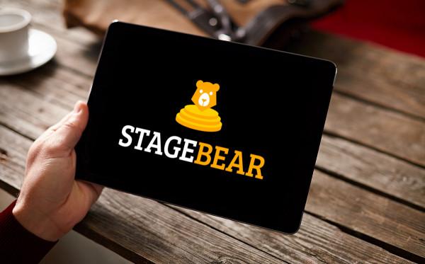 Sample branding #3 for Stagebear
