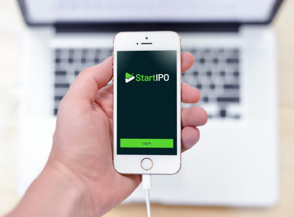 Sample branding #1 for Startipo