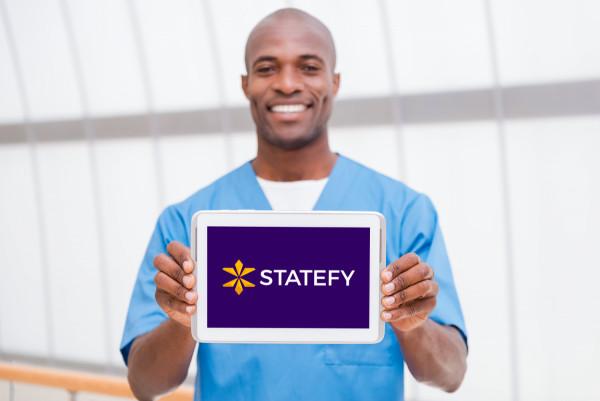 Sample branding #2 for Statefy