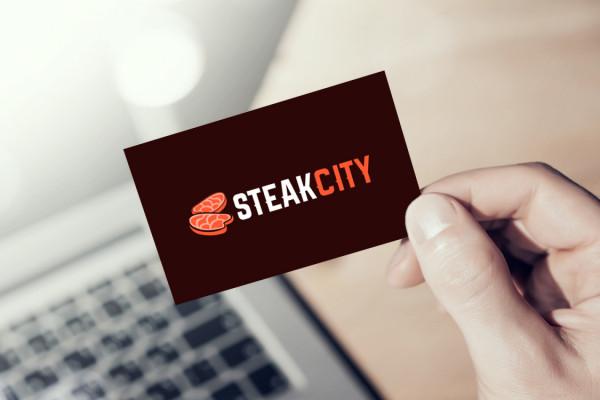 Sample branding #1 for Steakcity