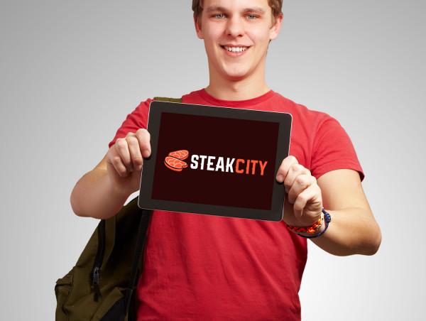 Sample branding #3 for Steakcity