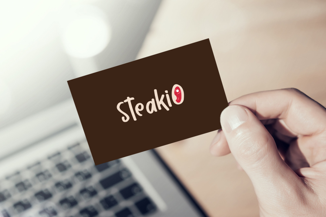 Sample branding #1 for Steakio