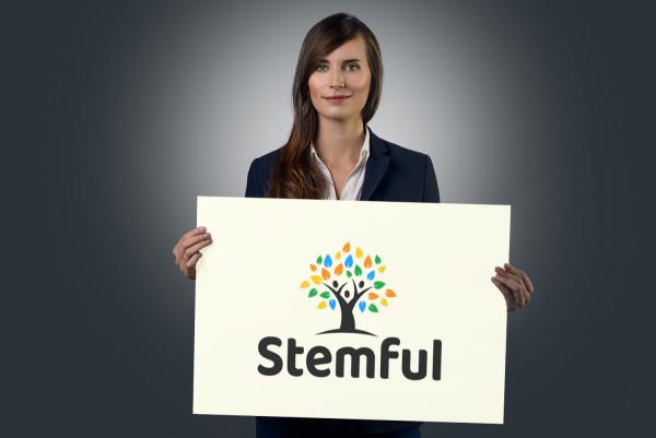 Sample branding #3 for Stemful