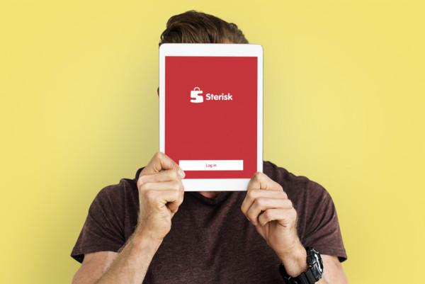 Sample branding #1 for Sterisk