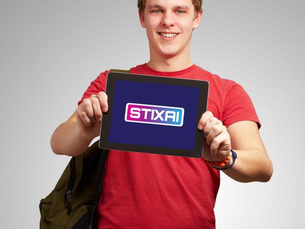 Sample branding #1 for Stixai