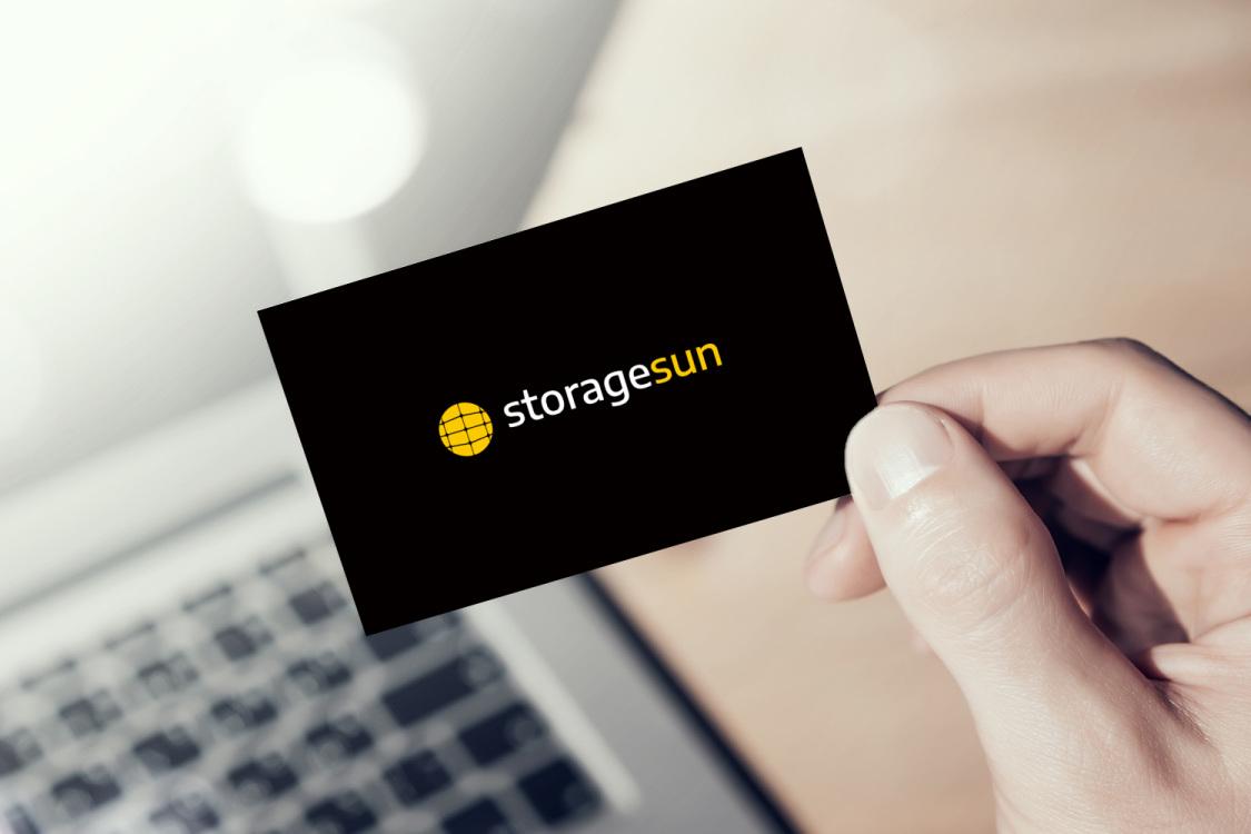 Sample branding #2 for Storagesun