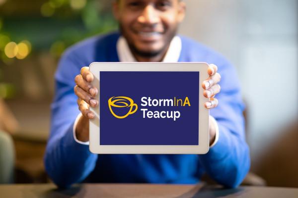 Sample branding #2 for Storminateacup