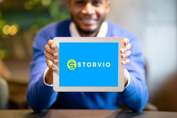 Sample branding #3 for Storvio