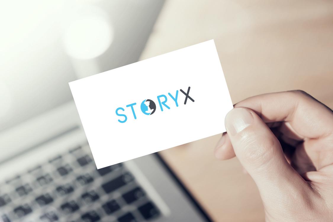 Sample branding #1 for Storyx