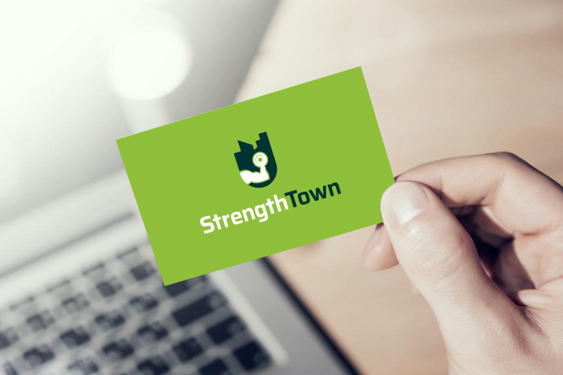 Sample branding #2 for Strengthtown
