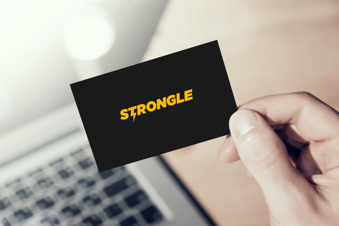Sample branding #3 for Strongle