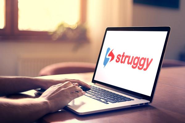 Sample branding #1 for Struggy
