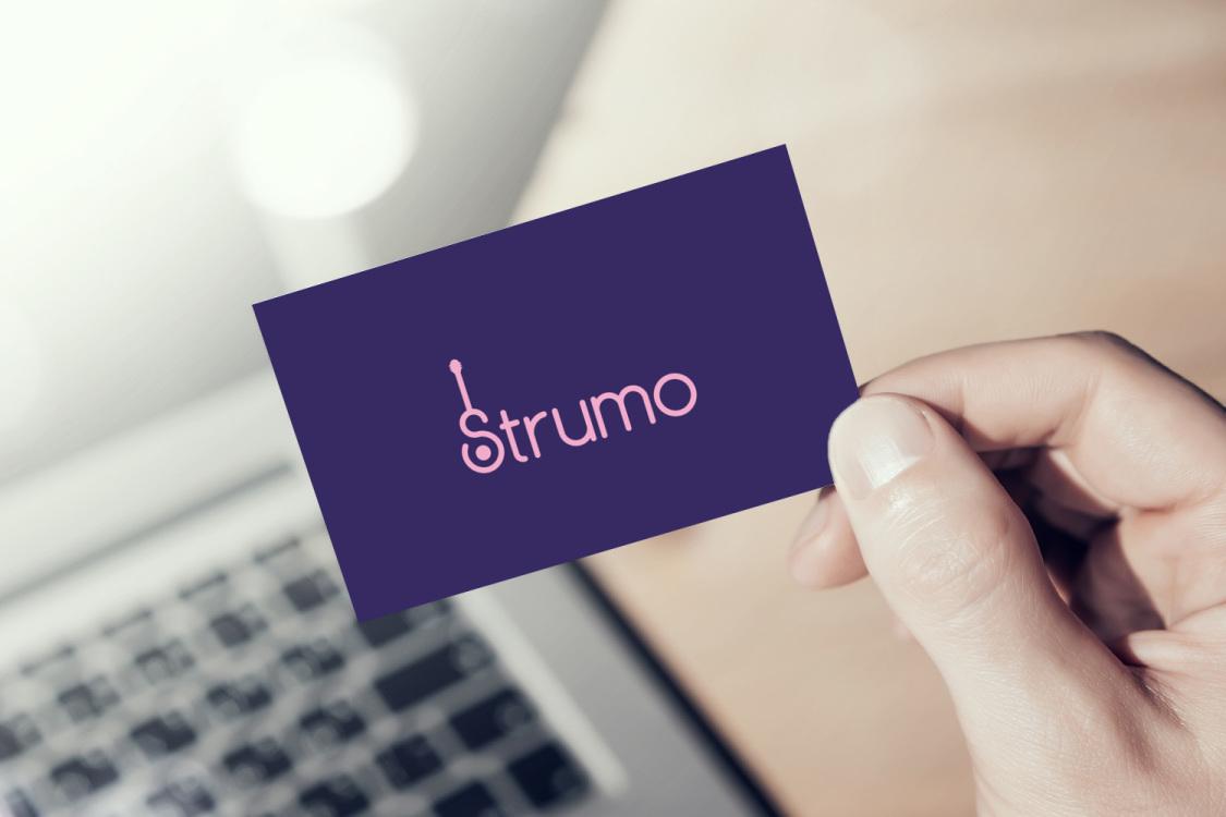 Sample branding #1 for Strumo
