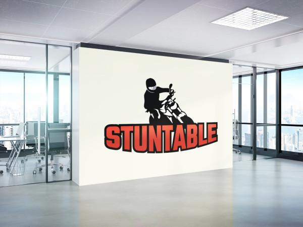 Sample branding #3 for Stuntable
