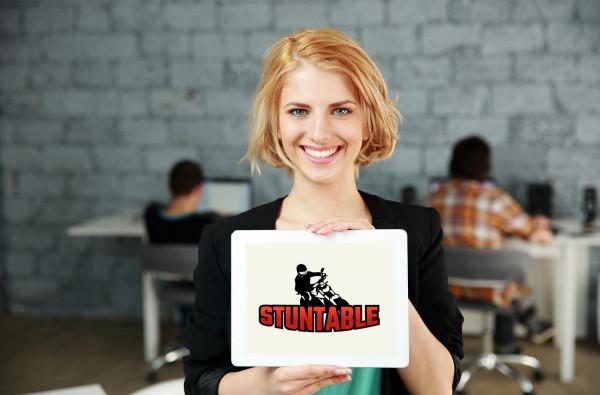 Sample branding #2 for Stuntable