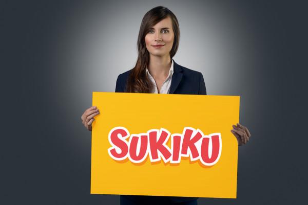 Sample branding #1 for Sukiku