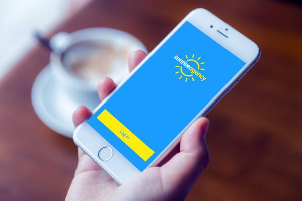 Sample branding #2 for Sunriseagency