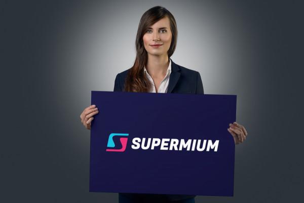 Sample branding #2 for Supermium