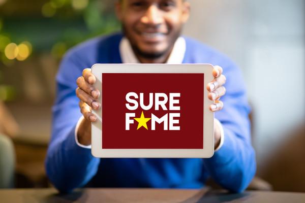 Sample branding #3 for Surefame