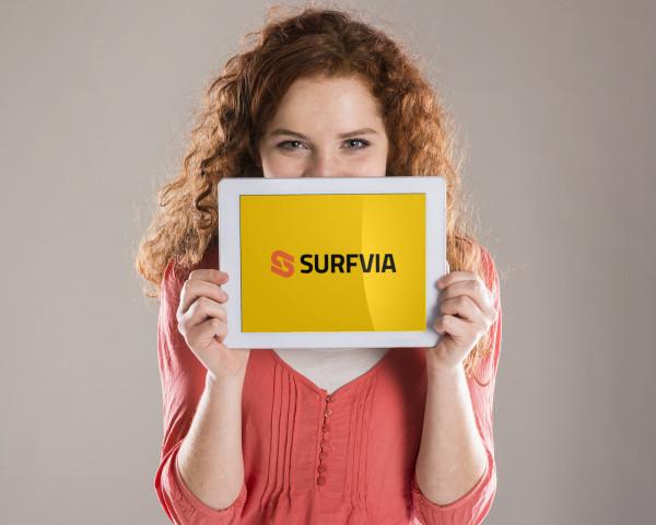 Sample branding #2 for Surfvia