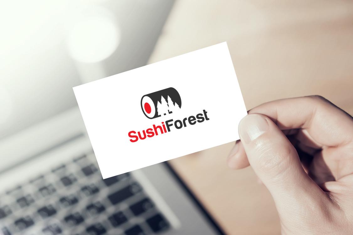 Sample branding #3 for Sushiforest