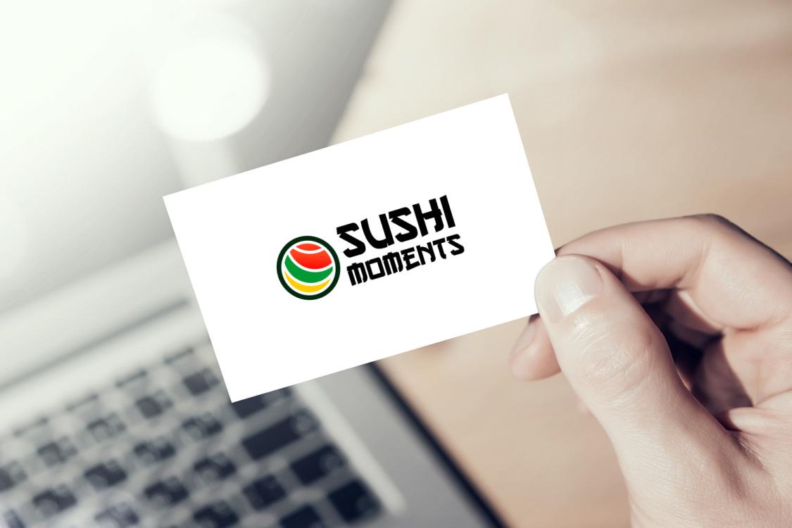 Sample branding #3 for Sushimoments