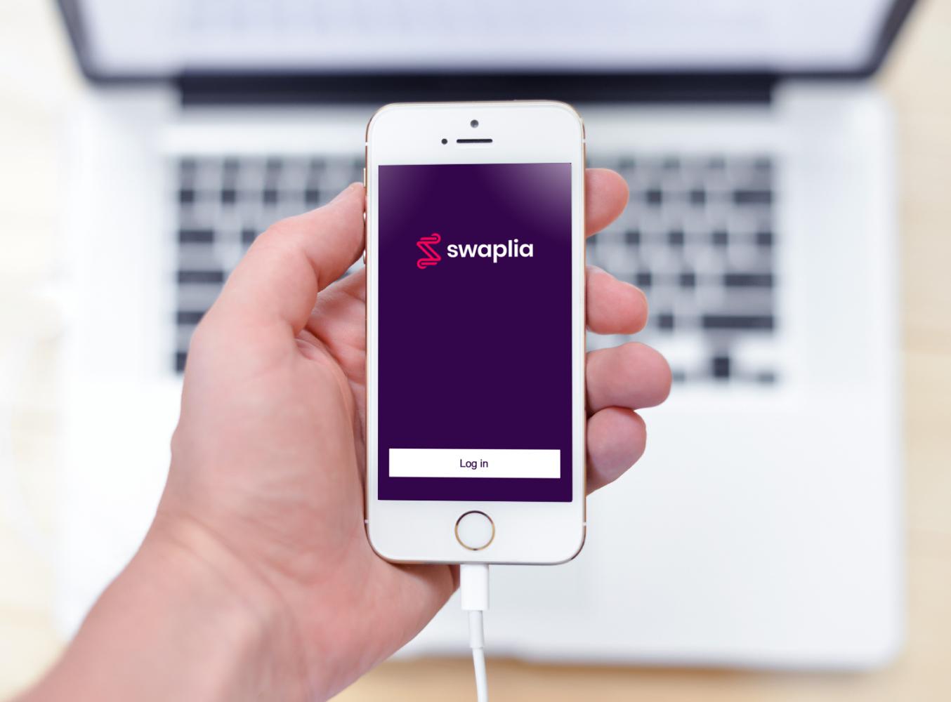 Sample branding #3 for Swaplia