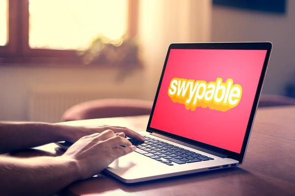 Sample branding #2 for Swypable