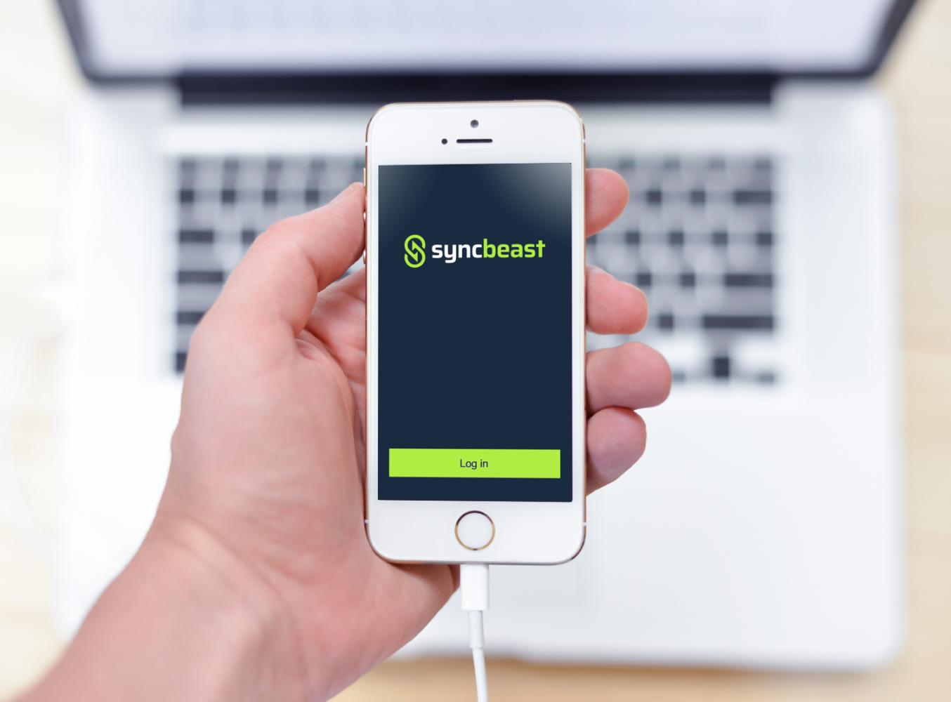 Sample branding #2 for Syncbeast