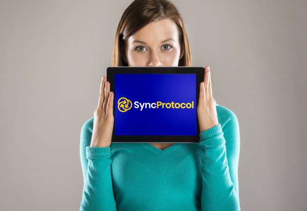 Sample branding #1 for Syncprotocol