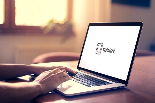 Sample branding #1 for Tablet