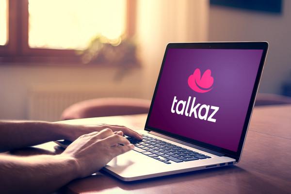 Sample branding #2 for Talkaz