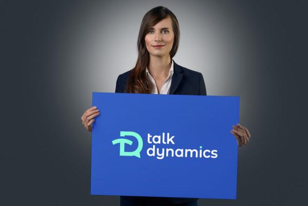 Sample branding #2 for Talkdynamics