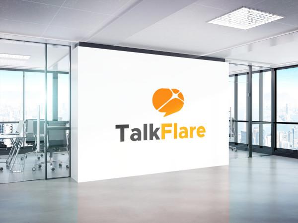 Sample branding #3 for Talkflare