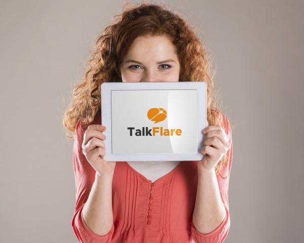 Sample branding #2 for Talkflare
