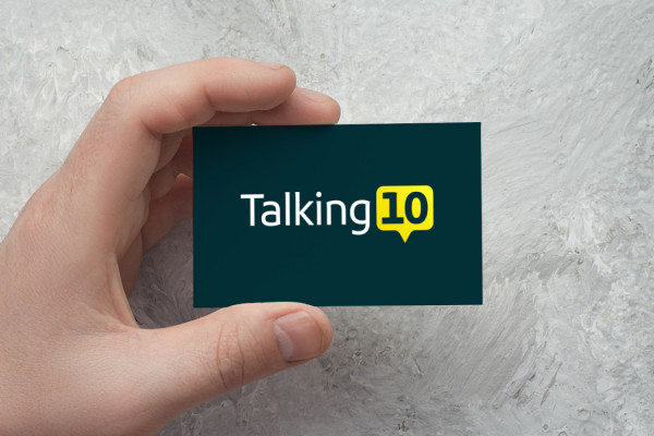Sample branding #3 for Talking10