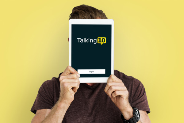 Sample branding #2 for Talking10