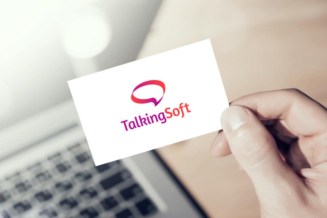 Sample branding #1 for Talkingsoft