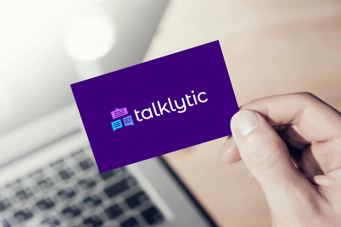 Sample branding #2 for Talklytic