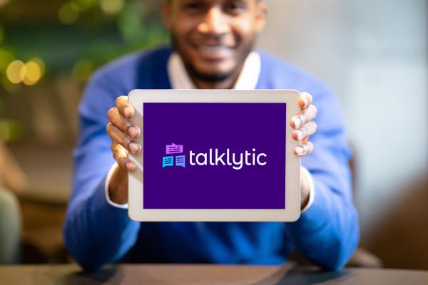 Sample branding #3 for Talklytic