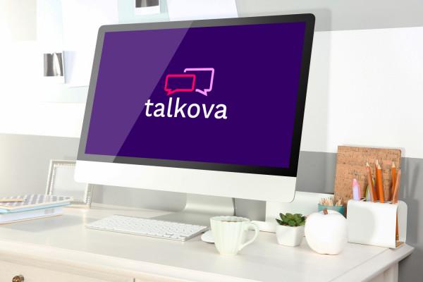 Sample branding #2 for Talkova